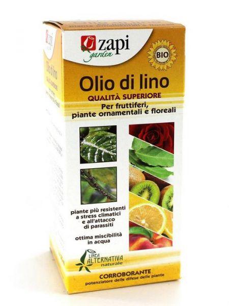 Olio di lino corroborante per piante da frutta, ornamentali e floreali 125ml