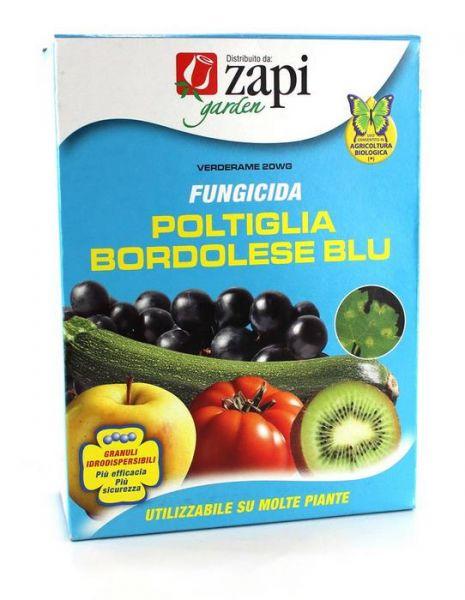 Fungicida Zapi Verde rame 20wg poltiglia bordolese blu in granuli 500g
