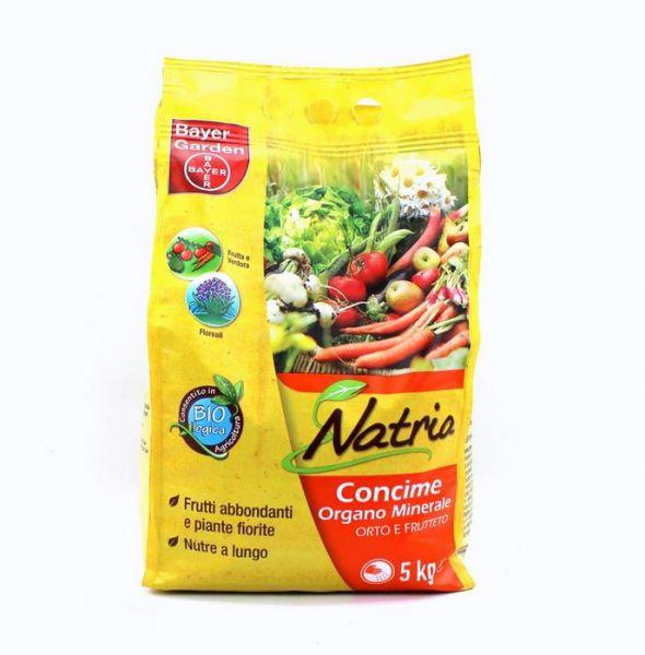 Concime biologico NPK Bayer Natria Orto e Frutteto 5kg