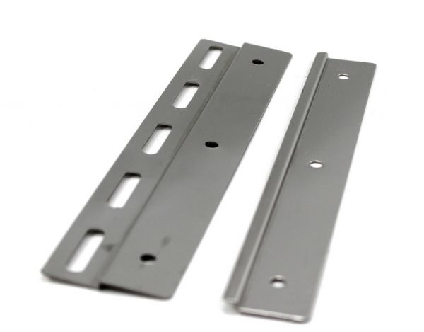 Staffe in Acciaio Inox per PVC Flessibile 20 cm