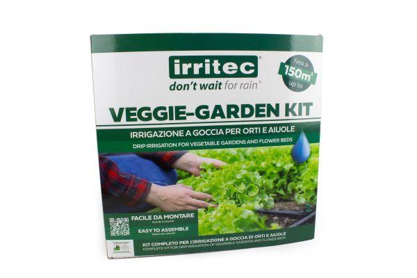 Kit per Irrigazione Orto Irritec Veggie Garden 150 m