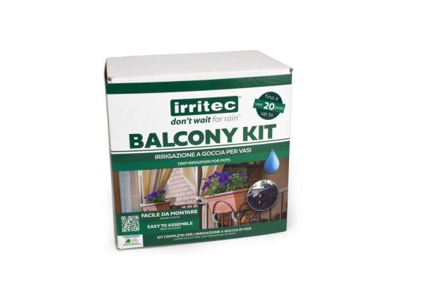 Kit Irrigazione Balcone a Goccia Irritec Balcony