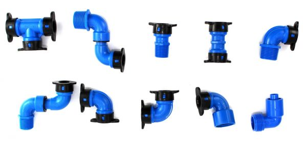 Raccordi Blu Lock