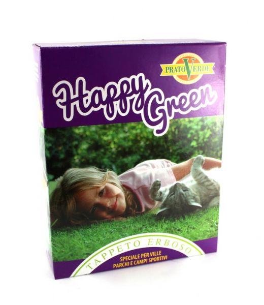 """Miscuglio per Tappeto Erboso tipo E super """"Happy Green"""" kg.1"""