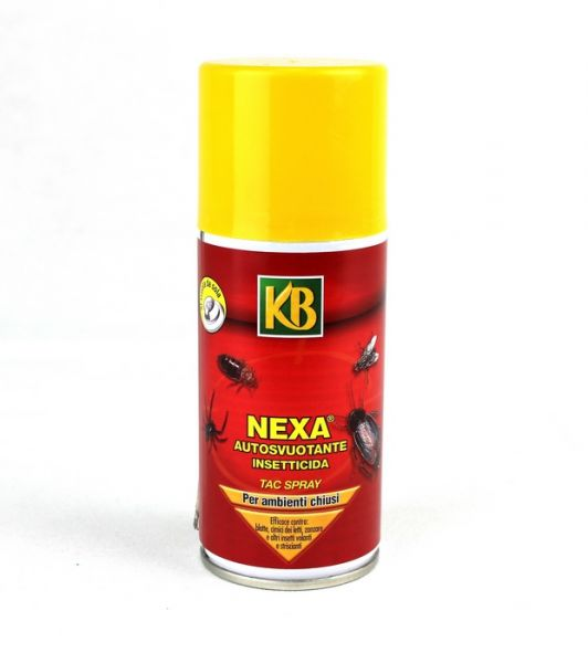 Insetticida in bomboletta AutoSvuotante KB Nexa Tac Spray 150 ml