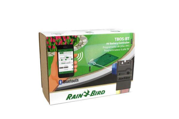Programmatore a batteria Rainbird TBOS-BT 4 stazioni - Comando Bluetooth