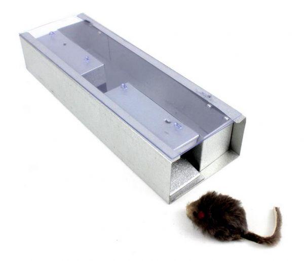 Trappola zincata per cattura roditori e blatte - S15A