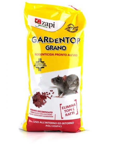 Esca topicida biocida Zapi Gardentop Grano - 1,5 Kg