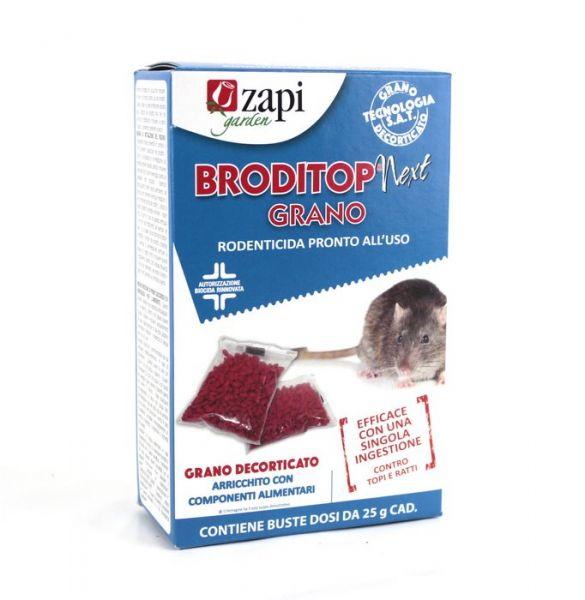 Esca Topicida Biocida in grano Broditop Next 150g - Zapi