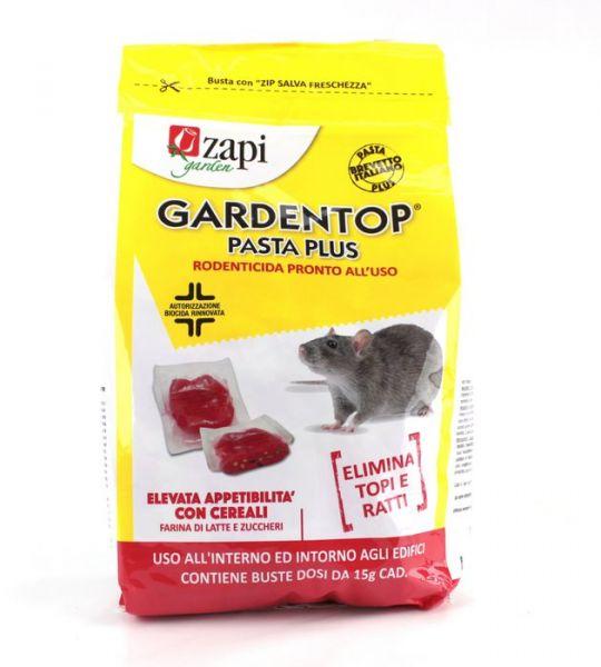 Esca Biocida/Topicida Gardentop Pasta Plus 1,53 kg - Zapi