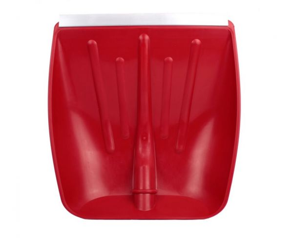 Pala Rossa da Neve in Plastica con Bordo Rinforzato