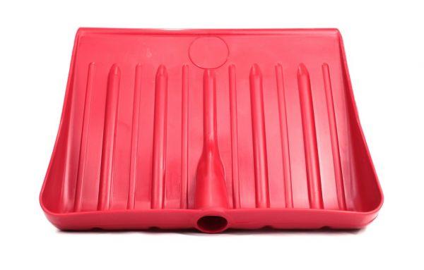 Pala da neve in plastica Rossa - Spalaneve - Spazzaneve