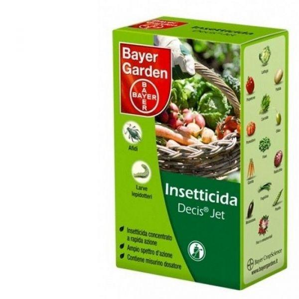 INSETTICIDA CONCENTRATO Bayer DECIS JET 100 ML PIRETROIDE DELTAMETRINA AFIDI