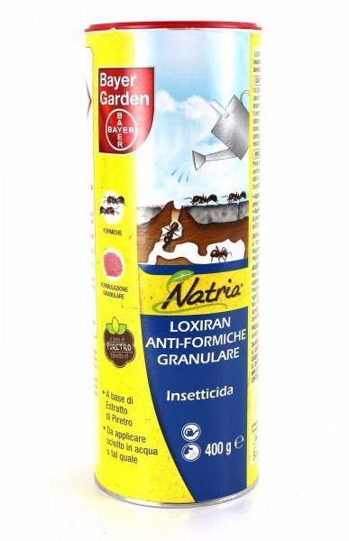 Insetticida naturale granulare Bayer Loxiran Anti formiche 400gr