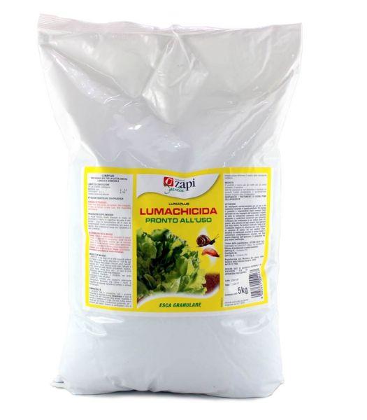 Esca Lumachicida a base di Metaldeide Zapi LumaPlus 5 kg