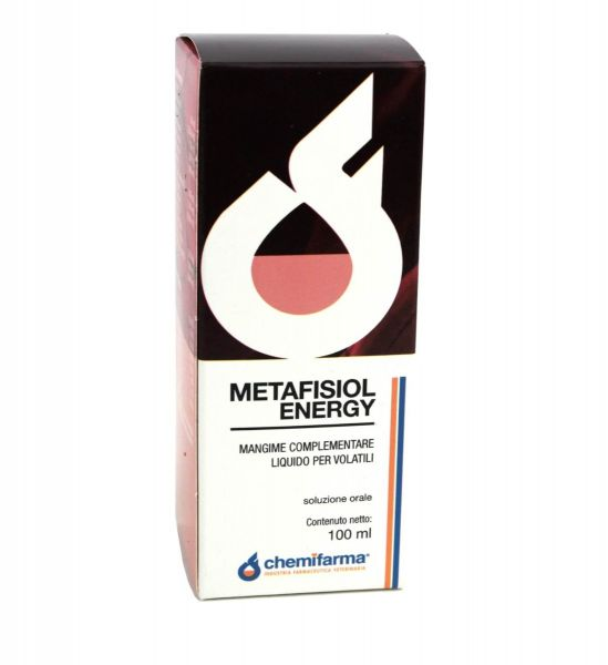 Complesso Liquido Multivitaminico Chemifarma Metafisiol Energy 100ml