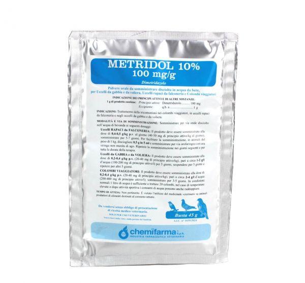 Medicale per il trattamento della Tricomoniasi - Metridol 10% 45g