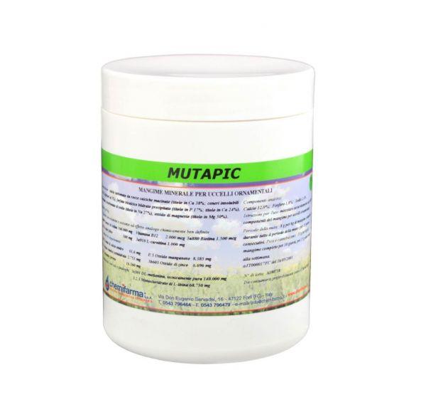 Integratore Zootecnico per Volatili Chemifarma Mutapic 200 g