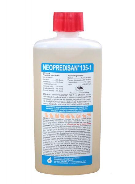 Disinfettante Zootecnico ad ampio spettro Chemifarma Neopredisan 135-1 500ml