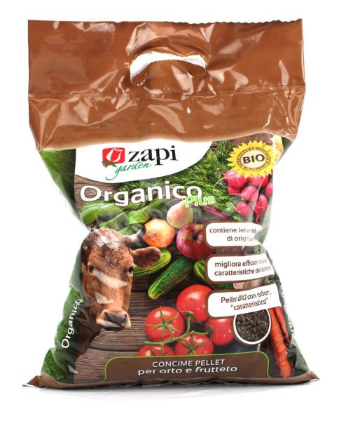 Concime Biologico Organico Plus Zapi 4kg