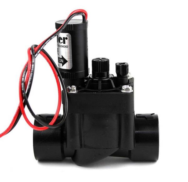 """ElettroValvola Hunter PGV 100 G-B DC 9 Vcc bistabile - regolatore flusso - 1"""" F-F"""