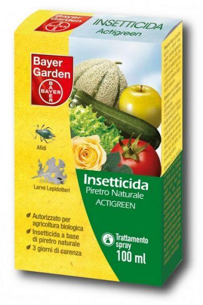 Insetticida Biologico Concentrato Piretro ActiGreen 20 ml