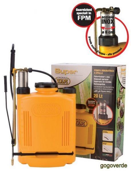 Nebulizzatore Spray con Pompante Inox Volpi 94SF 20 lt
