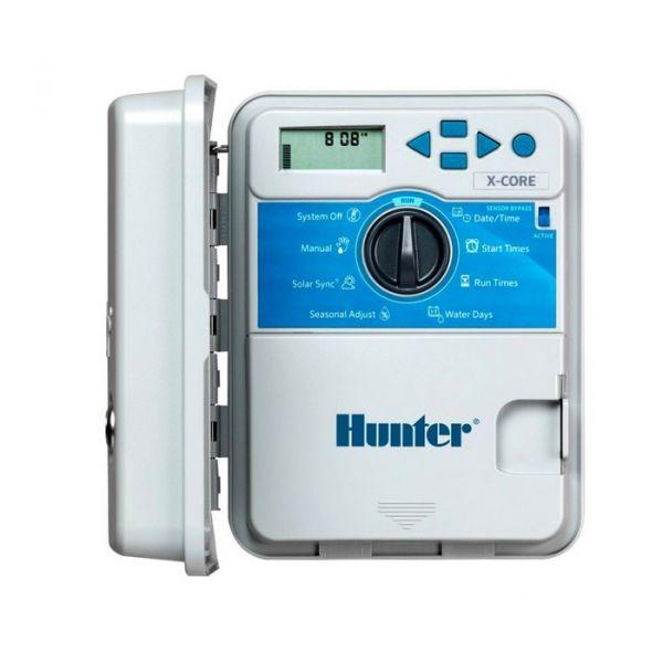 Programmatore Hunter X-Core 401-E Trasformatore Interno - 4 Zone