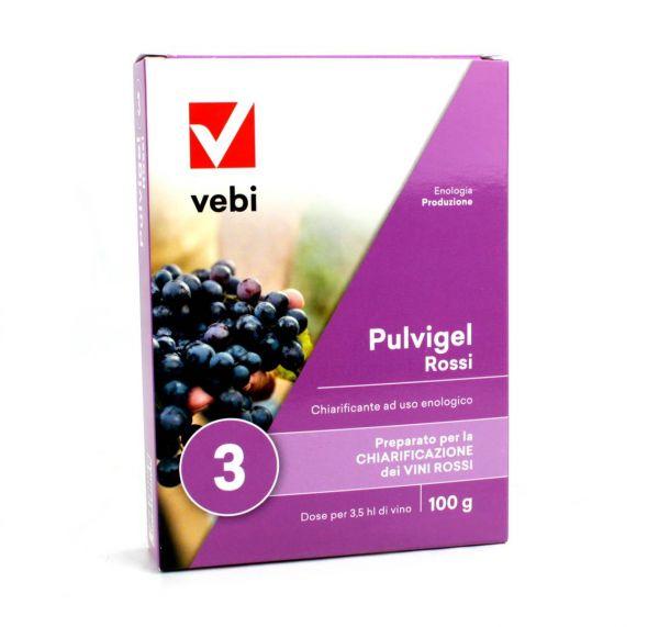 Chiarificante enologico per Vino Rosso Vebi Pulvigel