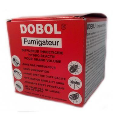 Insetticida per disinfestazione Dobol Fumigante da 100gr - per 1500 metri cubi