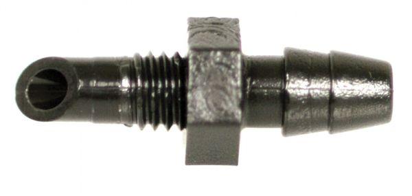 Innesto Filettato ad Olivetta per Microtubo - 4,5 mm - 20 pezzi