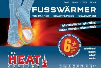 Scaldapiedi adesivo Fusswarmer 10 PAIA