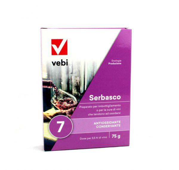 Preparato pre Imbottigliamento Vebi Serbasco 75 g
