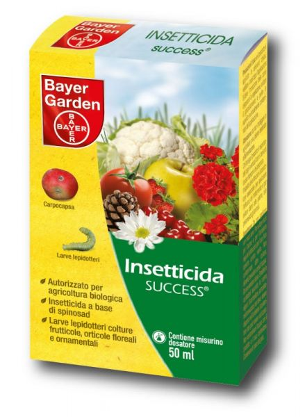 INSETTICIDA BIOLOGICO Bayer SUCCESS 10ML LEPIDOTTERI SPINOSAD METCALFA