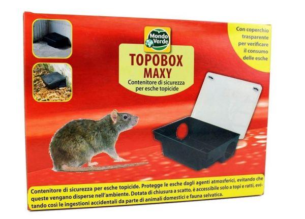 Box per Esca Topicida TopoBox Maxi - Coperchio Trasparente