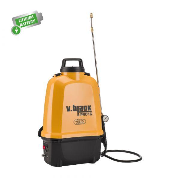 Pompa Spray a Batteria Volpi V.Black E-Pro 16 l