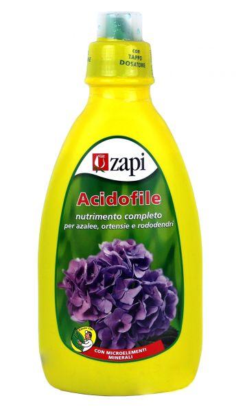 Concime LIQUIDO Zapi ACIDOFILE 1 LT NPK CON MICROELEMENTI AZALEE ORTENSIE